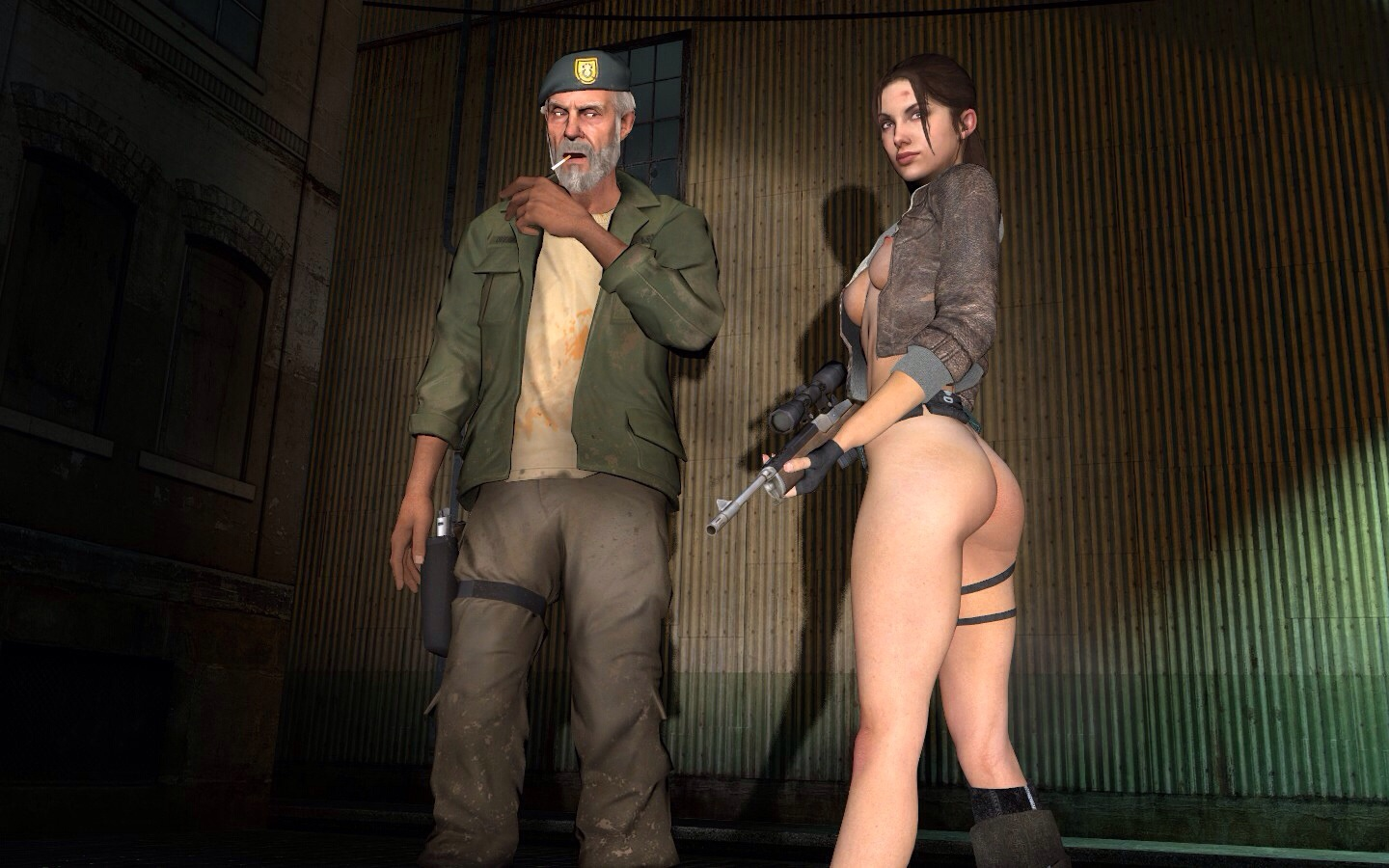 Nude zoey left 4 dead 2 sex galleries