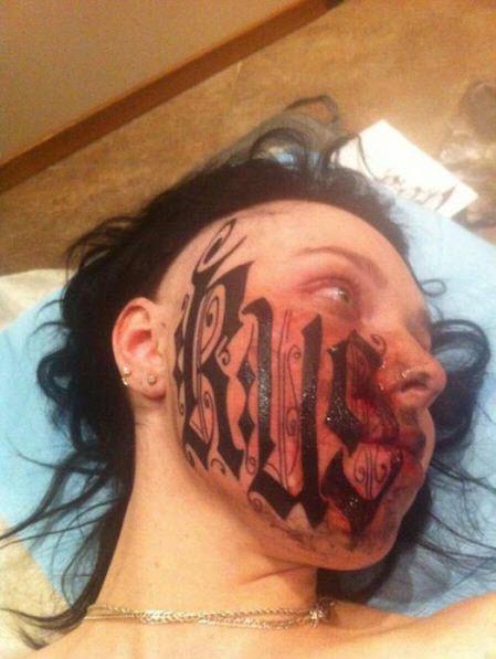 Girl-Tattoos-Her-Face-For-Her-Boyfriend-1
